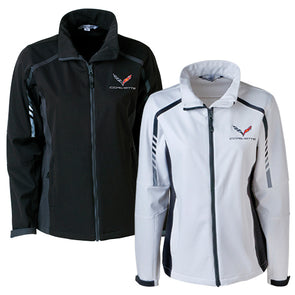C7 Corvette Ladies Embark Soft Shell Jacket - [Corvette Store Online]