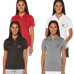 Ladies Corvette Next Generation Callaway Dry Core Polo - [Corvette Store Online]