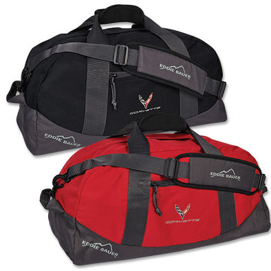 Corvette Next Generation Eddie Bauer Medium Duffel - [Corvette Store Online]