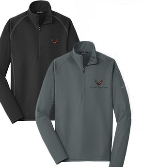 Men's Corvette Next Generation Eddie Bauer ½ Zip Pullover - [Corvette Store Online]