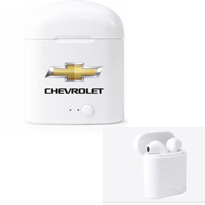 Chevrolet Gold Bowtie Wireless Earbuds - [Corvette Store Online]