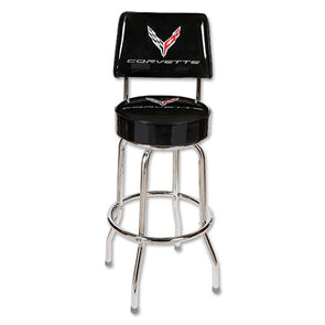 C8 Corvette Counter Stool w/ Back
