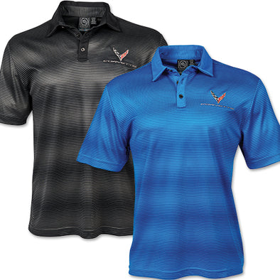 Corvette 2020 Mens Vibe Performance Polo