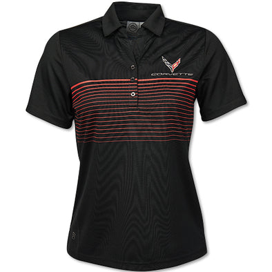 C8 Corvette 2020 Ladies Wavelength Polo