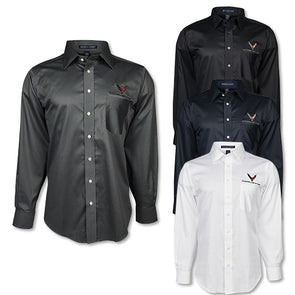 C8 Corvette 2020 Cotton Twill Dress Shirt