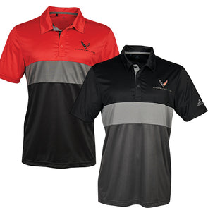 C8 Corvette 2020 Mens Adidas Sport Polo