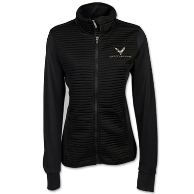 Corvette C8 2020 Ladies Double-knit Jacket