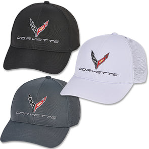 C8 Corvette Perforated Performance Cap