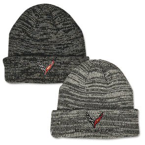 Corvette C8 2020 Heathered Knit Beanie