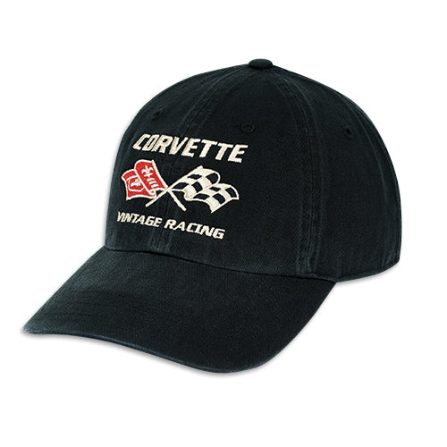 Corvette Vintage Racing Washed Chino Cap