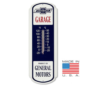 Vintage Chevrolet General Motors Thermometer