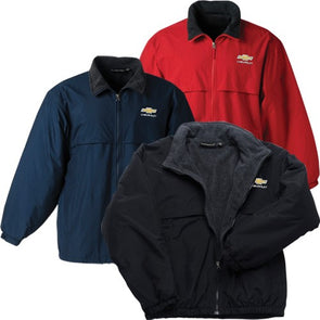 Gold Bowtie Polar Fleece Jacket - [Corvette Store Online]
