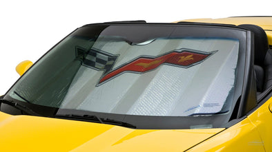 C6 Corvette CoverKing MODA Folding Graphic Sunshield 2005-2013