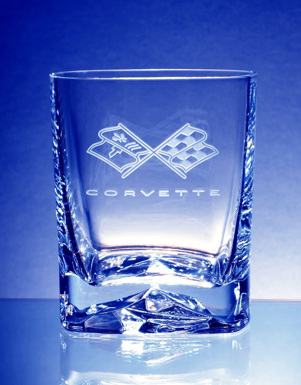 Corvette C1-C8 Generations Luigi Bormoili Strauss DOF Beverage Glass (8)