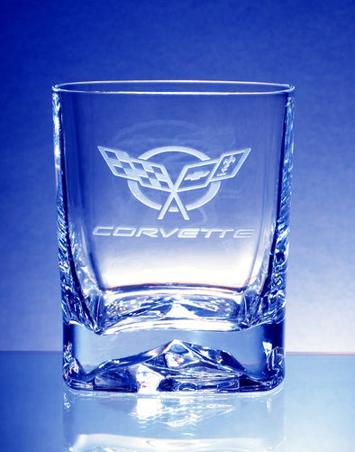 Corvette C5-C8 Generations Luigi Bormoili Strauss DOF Beverage Glass (4)