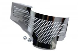 C7 Corvette | Polished Perforated Alternator Cover - [Corvette Store Online]