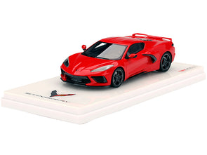 2020 Corvette Stingray C8 Accelerate Torch Red 1/43 Diecast
