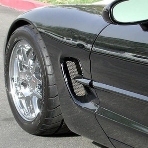 C5 & Z06 Corvette Side Fender Screen | 2 Pc. (Set) | 1997-2004 - [Corvette Store Online]