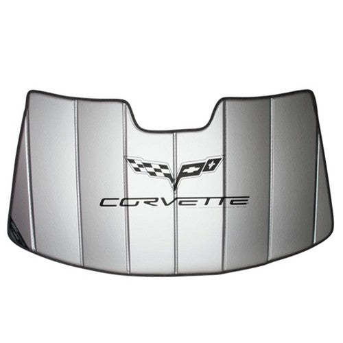 C6 Corvette Accordion Style Sunshade | Insulated | 2005-2013 - [Corvette Store Online]