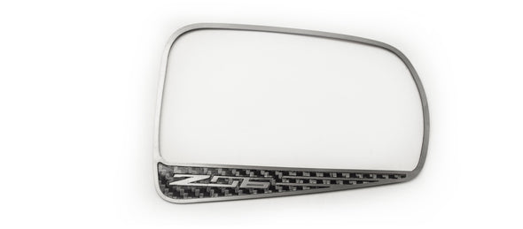 Corvette C7 Z06 | Carbon Fiber Side View Mirror Trim| 2 Pcs - [Corvette Store Online]