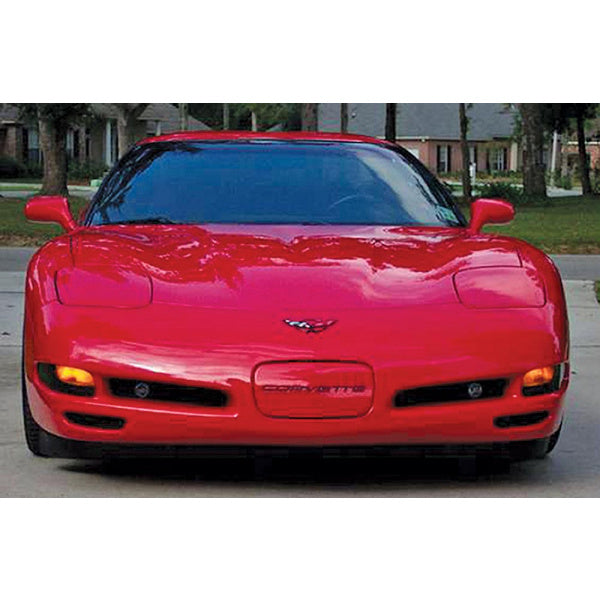 C5 Corvette Front 2 Piece Molded Parking Light Blackout Kit, 1997-2004 - [Corvette Store Online]