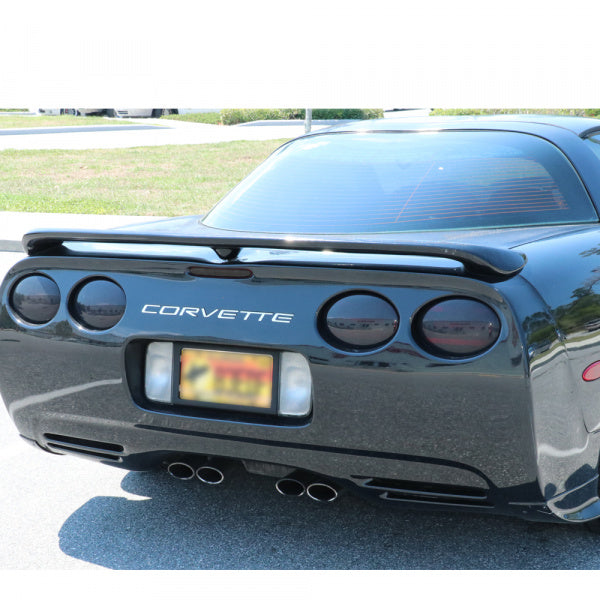C5 Corvette Rear 7-Piece Molded Tail Light Blackout Kit, 1997-2004 - [Corvette Store Online]