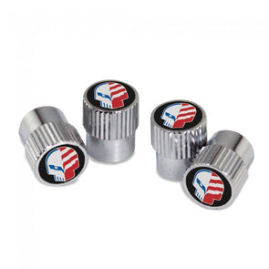 "Corvette Racing ""American Made Jake"" Valve Stem Caps - [Corvette Store Online]"