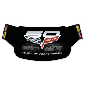 C6 Corvette Windshield Wrap | 60th Anniversary - [Corvette Store Online]