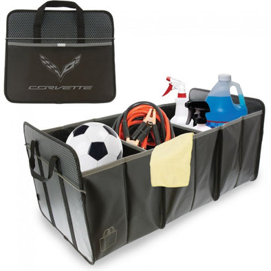 C7 Corvette Trunk Caddy - Black - [Corvette Store Online]