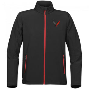 Corvette Next Generation Men's High-Performance Softshell - [Corvette Store Online]