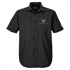 Corvette Next Generation Under Armour® Button-Down Shirt - [Corvette Store Online]