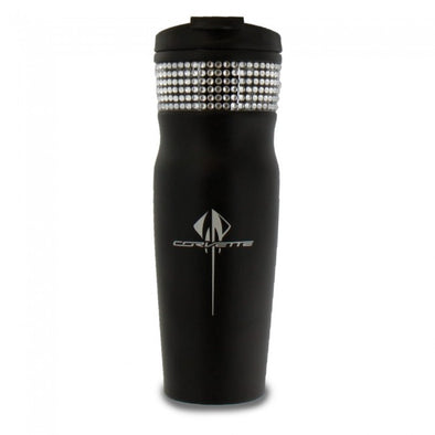 C7 Corvette Stingray Ladies Bling Tumbler - Black - [Corvette Store Online]