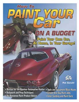 Paint Your Car On  A Budget | Softcover - [Corvette Store Online]