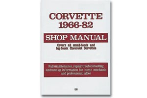 Corvette, 1966-1982: Shop Manual (Motorbooks Workshop) Paperback - [Corvette Store Online]