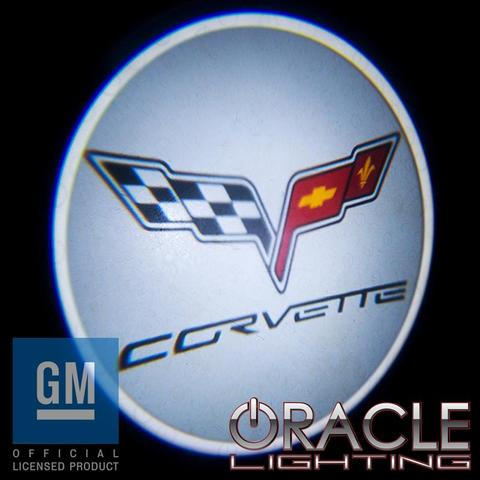 Corvette ORACLE GOBO LED Door Light Projector - [Corvette Store Online]
