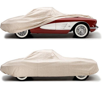 C1 Corvette Covercraft Tan Flannel Indoor Car Cover
