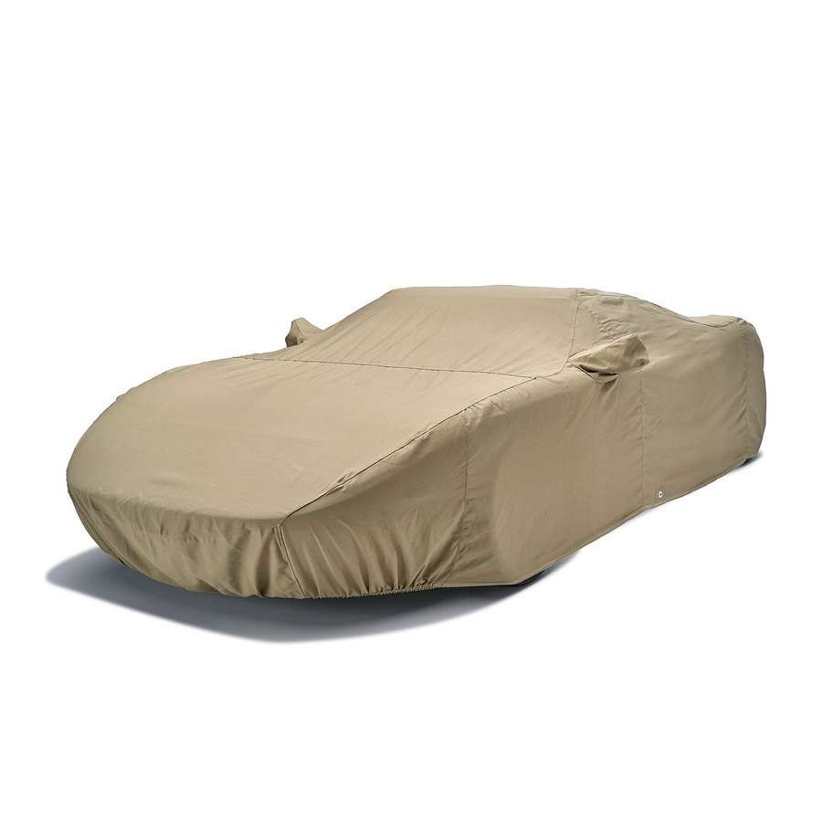 C7 Corvette Covercraft Tan Flannel Indoor Car Cover