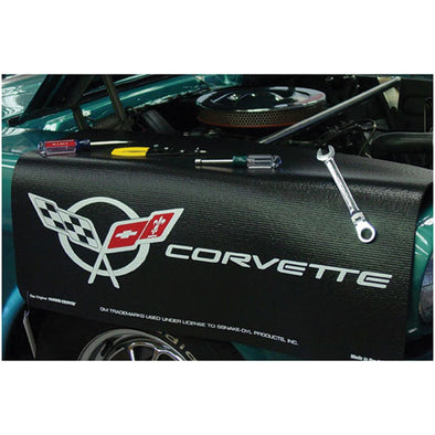 C5 Corvette Fender Gripper Fender Cover, Black - [Corvette Store Online]