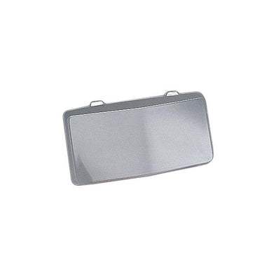 C4 Corvette License Plate Housing Bubble, Front, Clear, 1984-1990 - [Corvette Store Online]