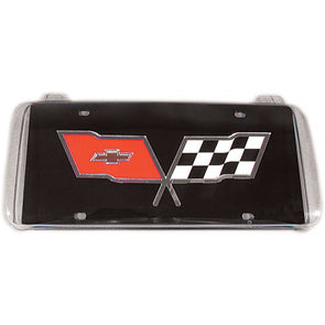C4 Corvette License Plate Housing Bubble, Front, Clear, 1991-1996 - [Corvette Store Online]