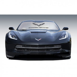 Intro-Tech Custom-Fit C7 Corvette Sun Shade - [Corvette Store Online]