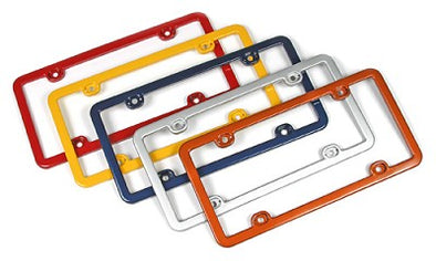 Corvette License Plate Frames, Altec, Painted Body Color, 1953-2020 - [Corvette Store Online]