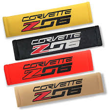 Corvette C7 Z06 Seat Belt Shoulder Harness Pad - [Corvette Store Online]