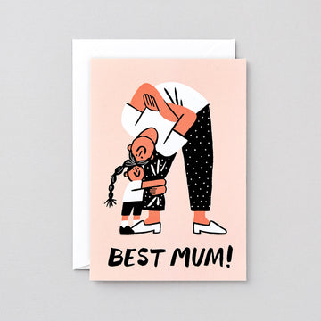 Best Mum Greetings Card