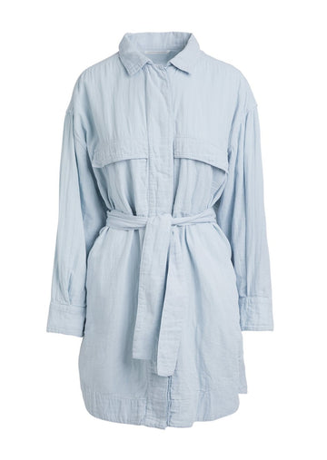 Gigi Cotton Double Layered Shirt Jacket