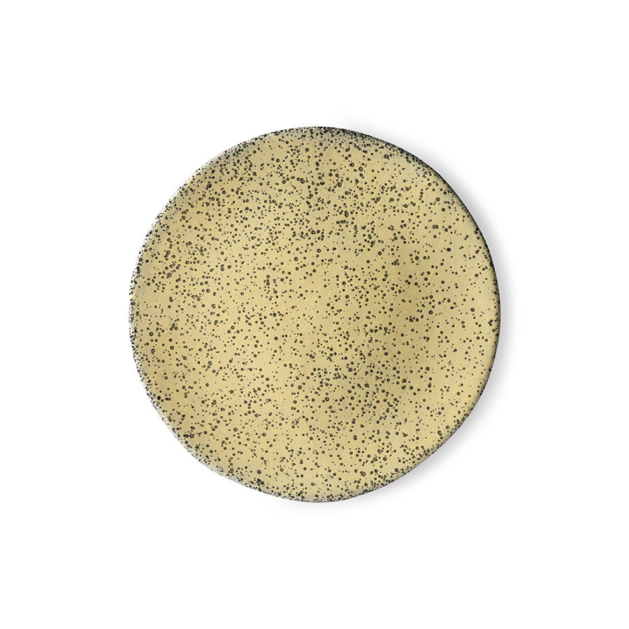 Gradient Ceramics Side Plate Yellow