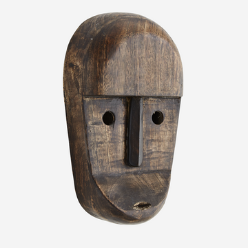 Wooden Mask with Eyes