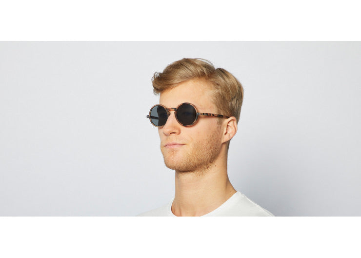 #G Sunglasses - Light Tortoise
