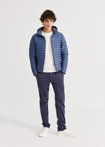 Ecoalf Atlantic jacket - grey blue