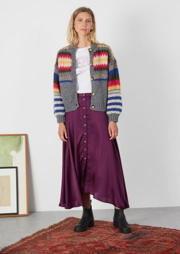 Jacinthe Plain Skirt